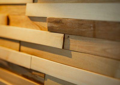 Drevený obklad borovica agát 4